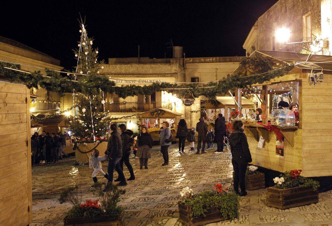 mercatini di natale Erice - Hotel Trinacria