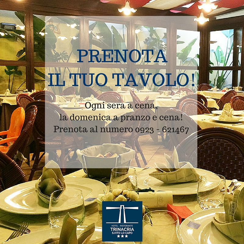 Ristorante Trinacria - Hotel Trinacria San Vito Lo Capo