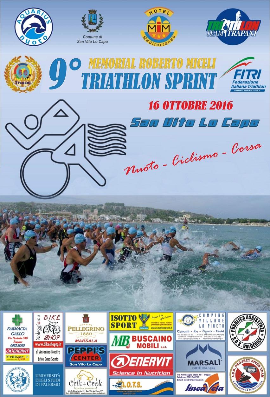 locandina sport-triathlon - Hotel Trinacria