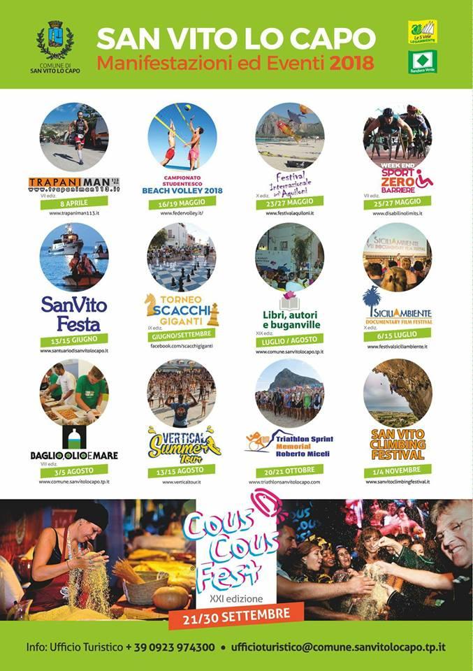 Eventi 2018 a San Vito Lo Capo - Pollina Auto