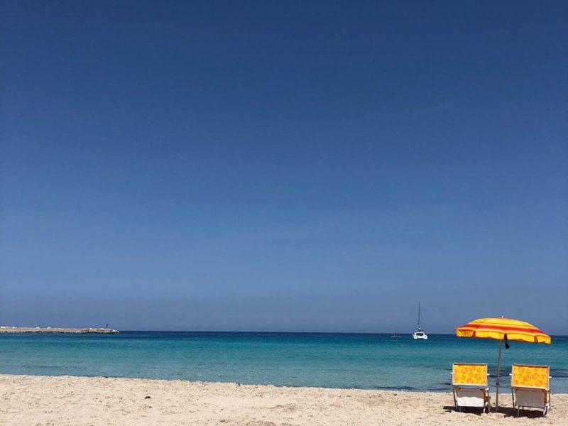 spiaggia di San Vito Lo Capo - Hotel Ristorante Trinacria
