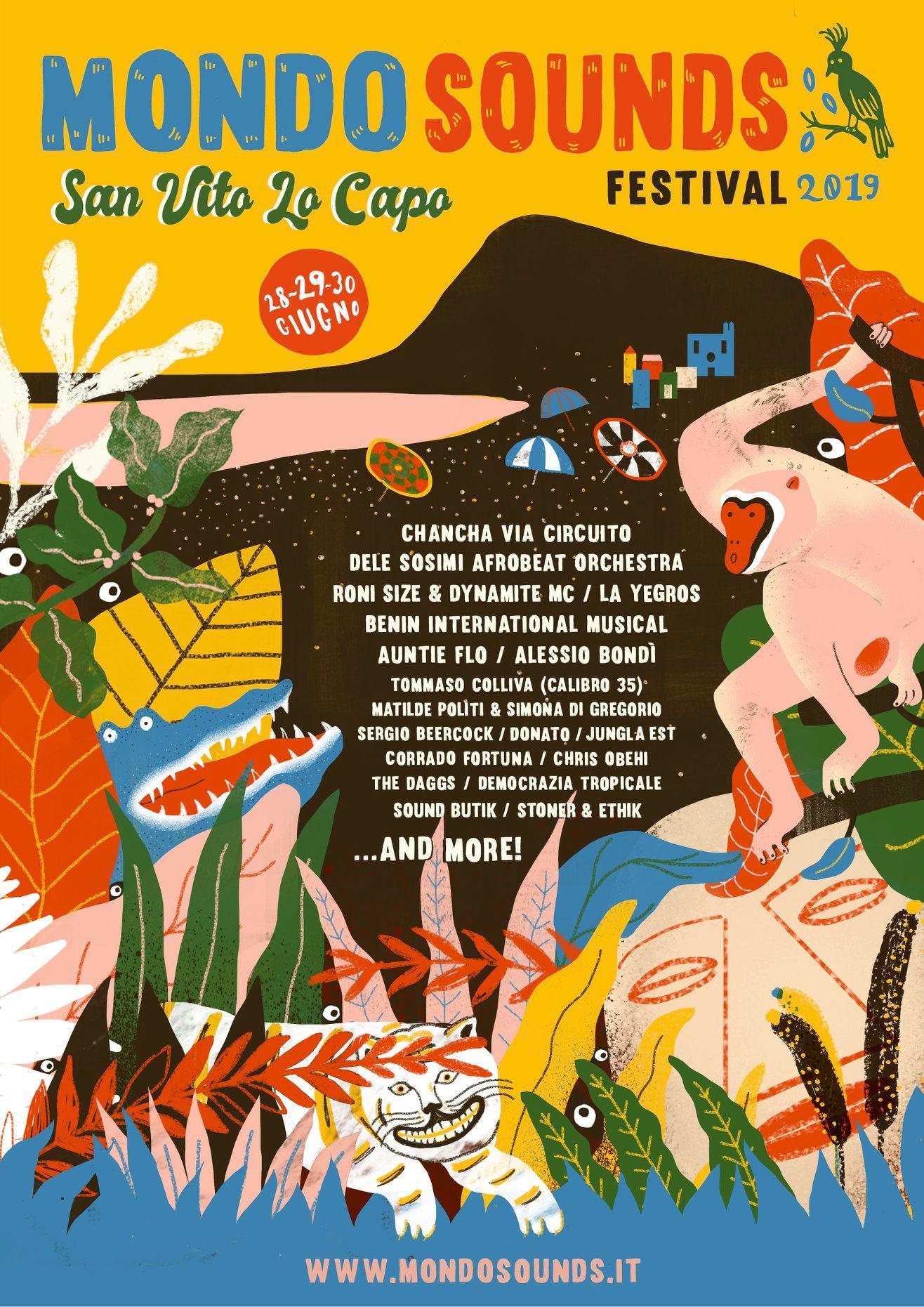 Mondo Sounds Festival a San Vito Lo Capo - Hotel Trinacria
