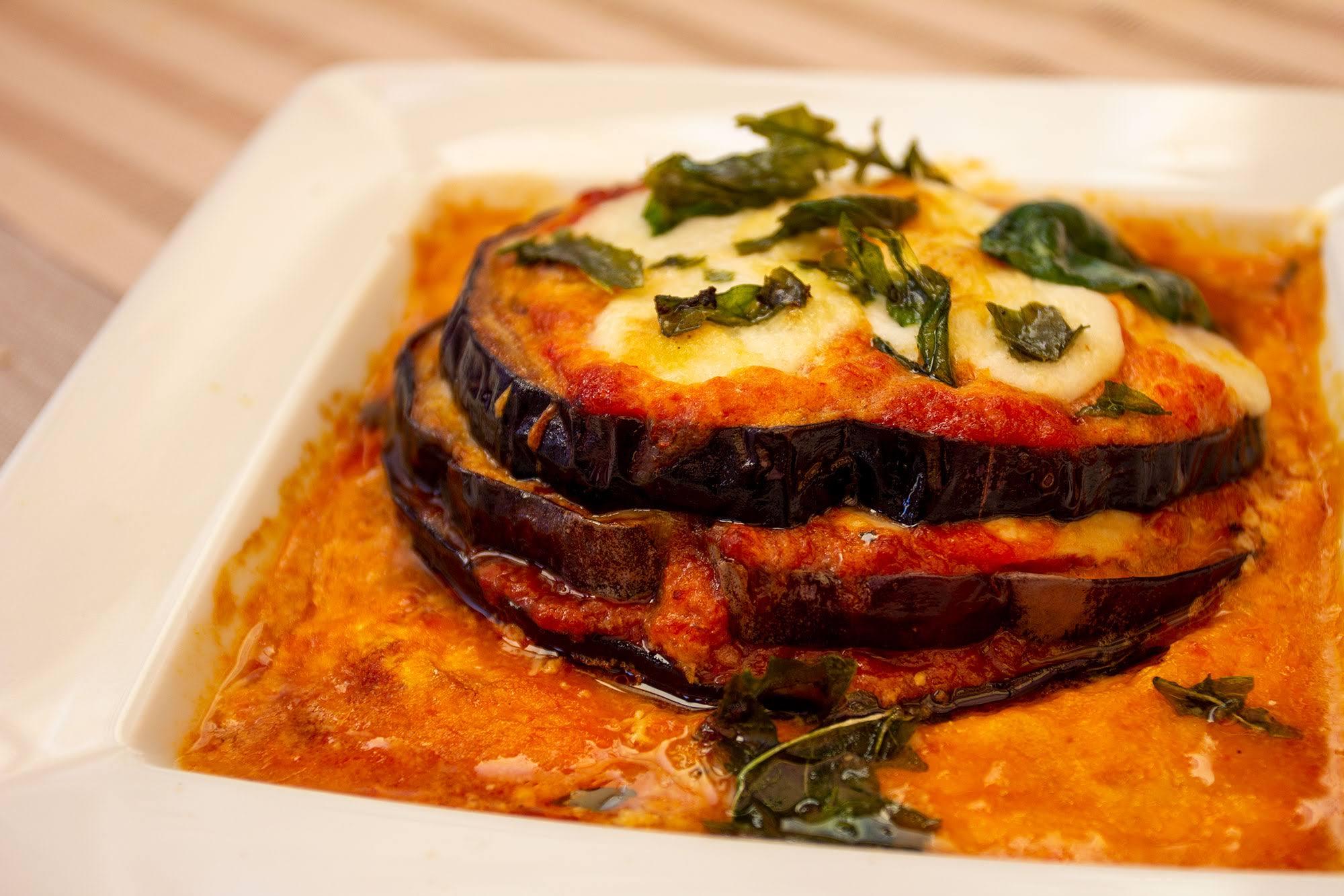 Parmigiana di Melanzane - ristorante san vito lo capo - Hotel Trinacria