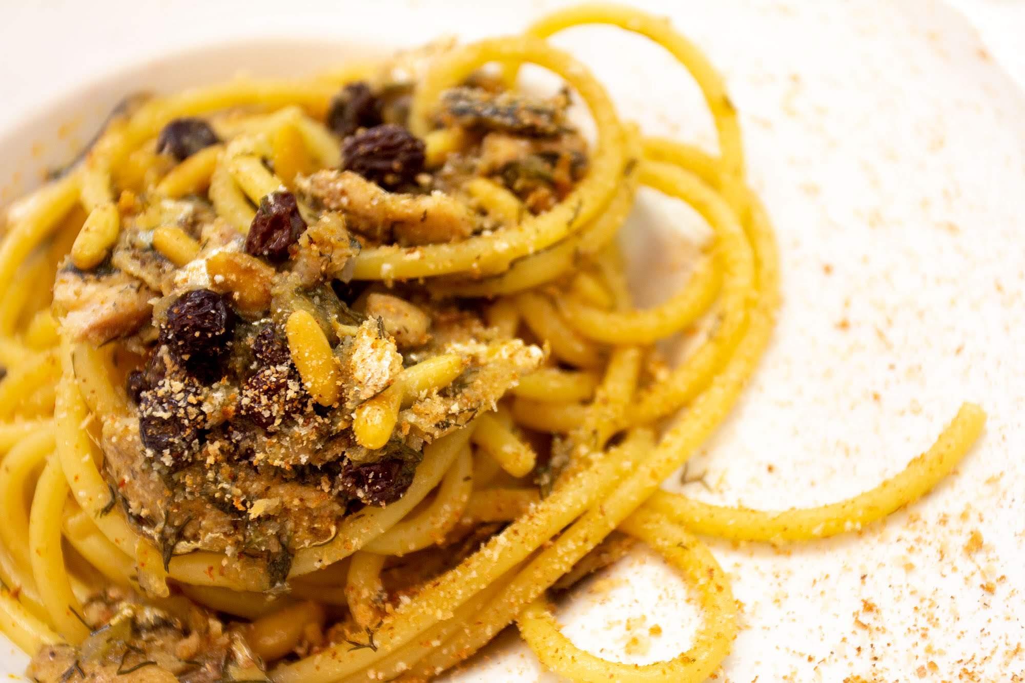 Pasta con le Sarde - ristorante san vito lo capo - Hotel Trinacria