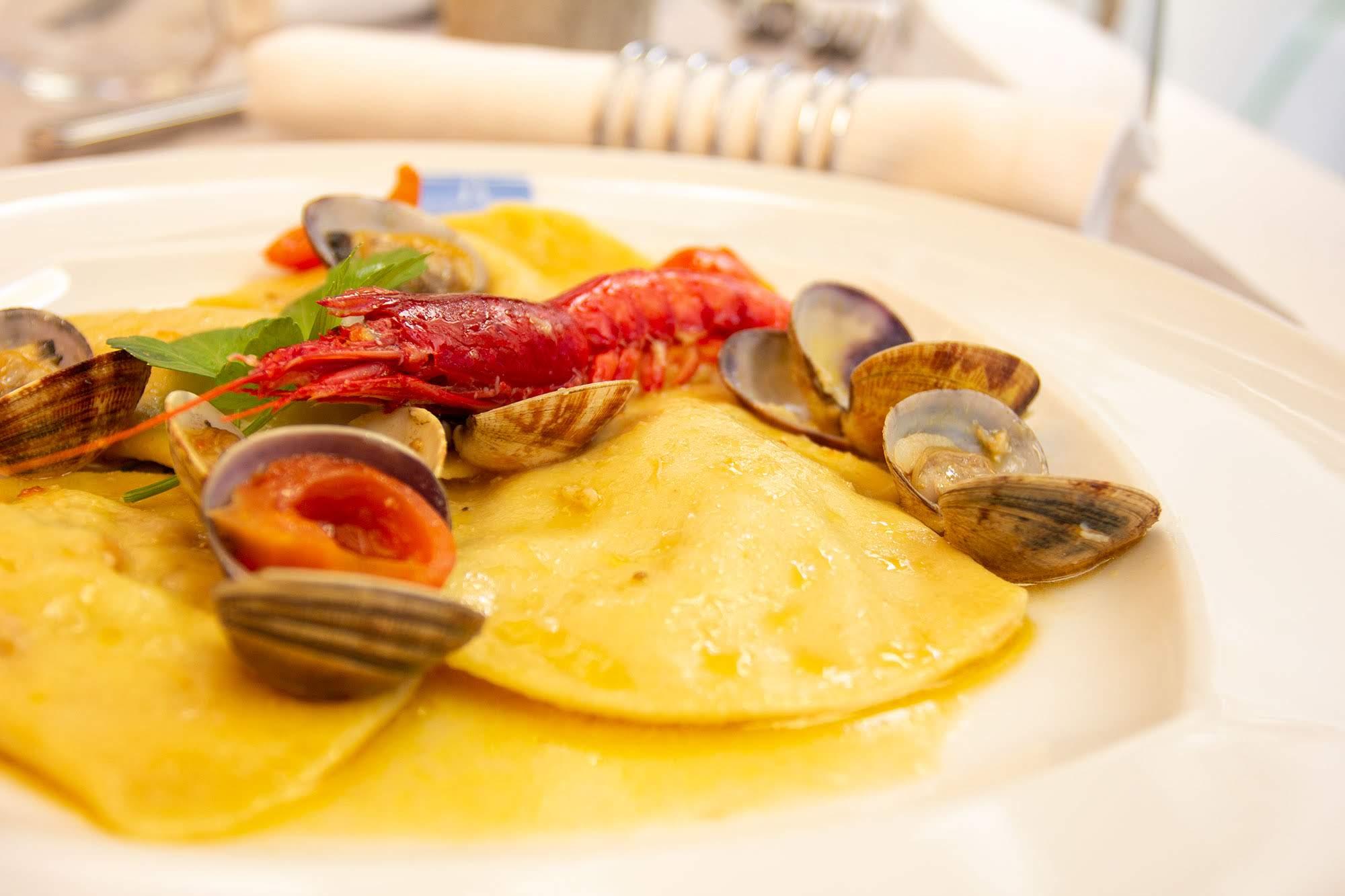 ravioli - ristorante san vito lo capo - Hotel Trinacria